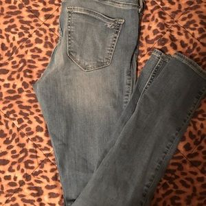 hollister low rise jean leggings .